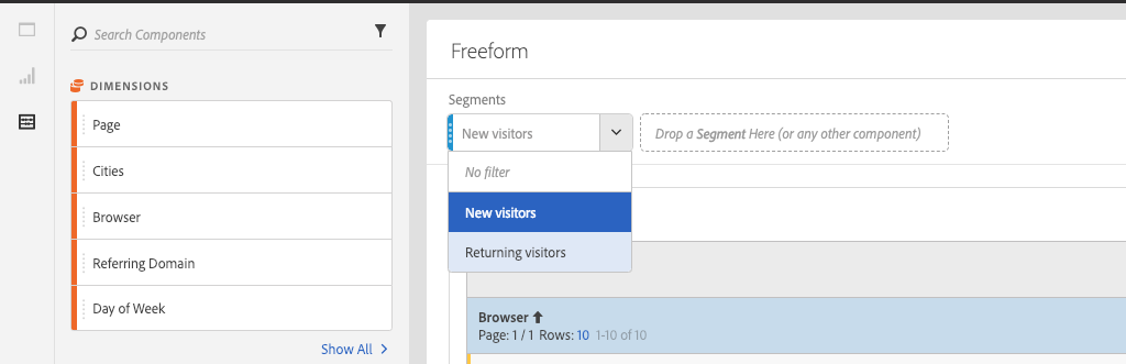 Adobe-Analytics-Workspace-Segment-Dropdown